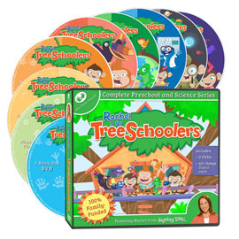 TreeSchoolers Science DVD Set