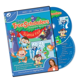 TreeSchoolers 7: Scientific Reasoning - DVD/CD ASL, Sign Language, Baby Sign Language, Kids ASL, Kids Sign Language, American Sign Language
